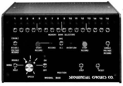 Sequential Circuits Model 800 Sequencer